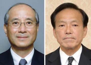 小田野展丈氏(左)、河相周夫氏