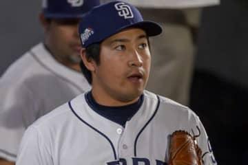 現在はパドレス傘下2Aに所属する牧田和久【写真:Getty Images】