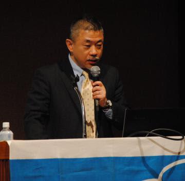 「新天皇即位とその後の皇室」をテーマに講演した山田昌邦氏