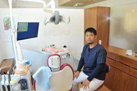 診療を再開したグリーン・デンタル・クリニック。川本院長は「患者さんのプライバシー確保と、負担軽減につながる治療を」などと話す
