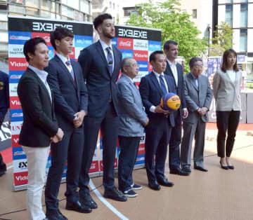 3人制バスケL18日開幕 京都・滋賀ゆかり選手も意気込み