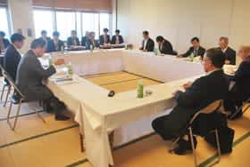 胆振東部地震の復旧・復興を特別枠で要望することを確認した期成会総会