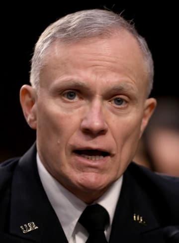 米国防情報局のアシュレー局長=1月、ワシントン(ゲッティ=共同)