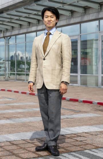 ブリャート国立アカデミーオペラ・バレエ劇場の芸術監督を退任する岩田守弘さん=31日、ロシア・ウラジオストク(共同)