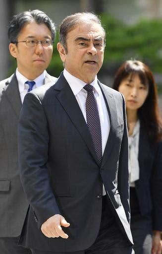 前日産自動車会長カルロス・ゴーン被告=5月23日