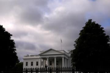 米ホワイトハウス=5月(ロイター=共同)