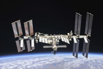 国際宇宙ステーション=2018年10月(NASA提供)