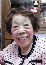 作家の田辺聖子さん=2011年3月、伊丹市内