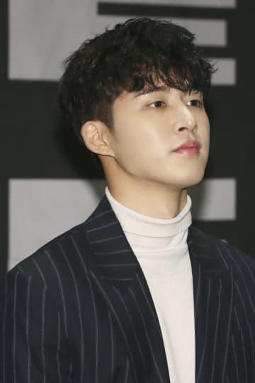 韓国の男性アイドルグループ「iKON」からの脱退を表明したリーダー、B.Iさん=2018年10月、ソウル(聯合=共同)