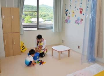 吉永病院に開設された病児・病後児保育室
