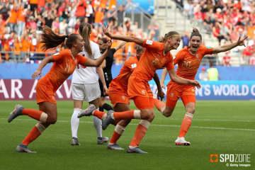 3連勝したオランダが決勝ラウンドでなでしこジャパンと対戦する