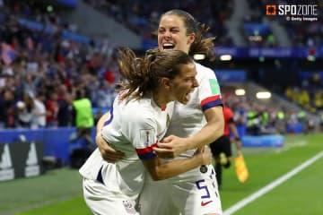 3試合で18得点挙げたアメリカが首位通過