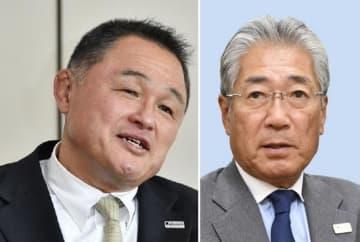山下泰裕氏(左) 竹田恒和氏(右)
