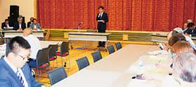 特別委員会の設置が示された豊浦町商工会の19年度通常総会