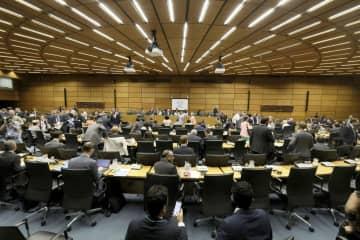 国際原子力機関(IAEA)の特別理事会=10日、ウィーン(AP=共同)
