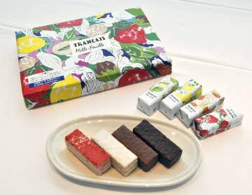 総合グランプリに選ばれた洋菓子「フランセ 果実をたのしむミルフィユ詰合せ」