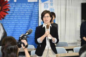 「力が及ばなかった」と話す浅賀由香さん=21日午後9時10分、横浜市神奈川区の事務所