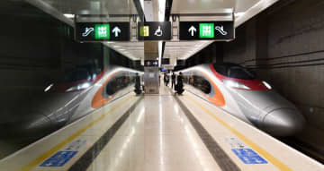 Guangzhou-Shenzhen-Hong Kong Express Rail Link. File Photo: GovHK.