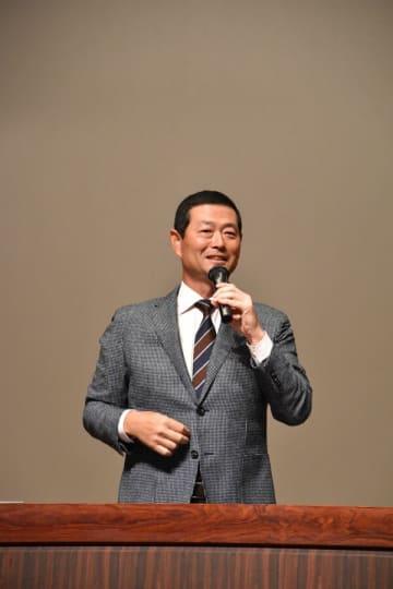 「勉強との両立も大切」 桑田真澄さん講演