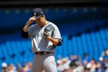 ブルージェイズ戦に先発し今季8勝目を挙げたヤンキース・田中将大【写真:Getty Images】