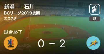 【BCリーグ後期】石川が新潟から勝利をもぎ取る