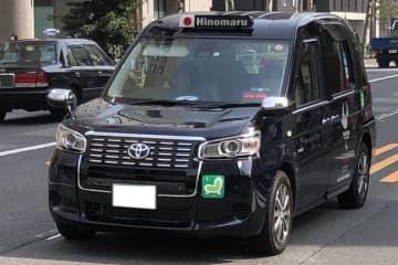 都内を走るJPN TAXI(ジャパンタクシー)
