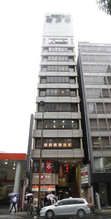テックビューロ本社が入居するビル=大阪市