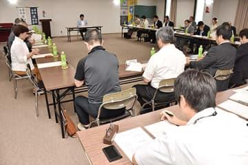 開催概要を決めた「日本一美酒県 山形フェア」の実行委員会設立総会=山形市・県酒造会館