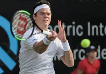 2019年度「ATP250 シュツットガルト」でのラオニッチ