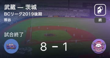 【BCリーグ後期】武蔵が茨城に大きく点差をつけて勝利
