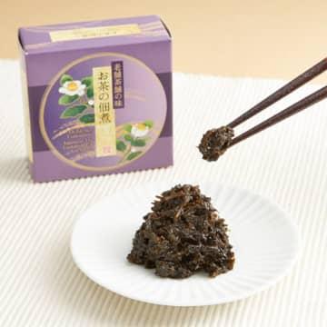 【食べるお茶】緑茶・碾茶(てんちゃ)・つくだ煮のセット【老舗茶舗の味】