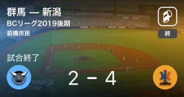 【BCリーグ後期】新潟が群馬から勝利をもぎ取る