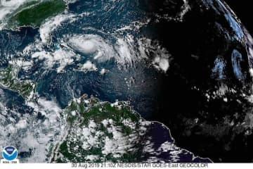 Hurricane Dorian 8/30/2019 (C)noaa