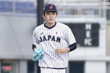 侍ジャパンU-18代表の大船渡・佐々木朗希【写真:荒川祐史】