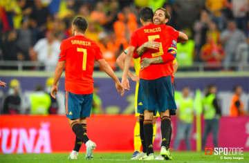 S・ラモスのPK弾などでスペインが5連勝