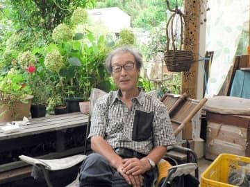 「四季の変化と共に生きるのは幸せ」と話す小橋さん