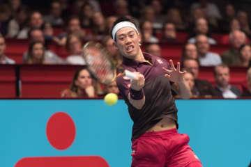 2018年「ATP500 ウィーン」での錦織圭