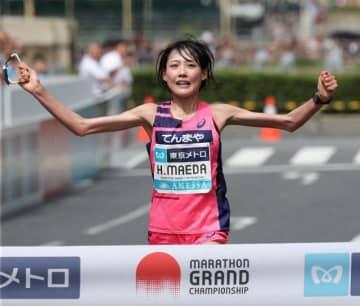 天満屋の前田穂南 東京五輪へ MGCで優勝、小原怜は3位