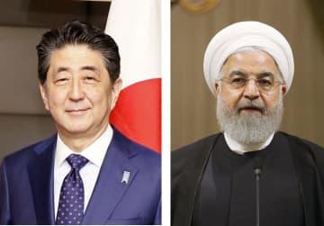 安倍晋三首相、イランのロウハニ大統領