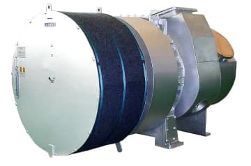 三菱重工マリンマシナリに製造が移管されるMET過給機(三菱重工業提供)