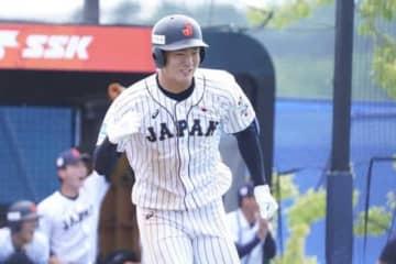 U-18W杯で活躍した東邦・石川昂弥【写真:荒川祐史】