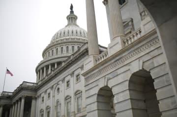 ワシントンの米議会(ゲッティ=共同)
