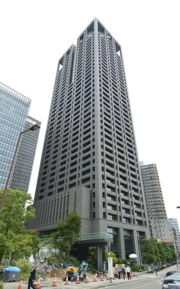 関西電力本店=2日、大阪市