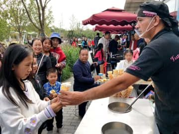 国慶節連休中の小売・飲食企業売上高1兆5200億元 8・5%増