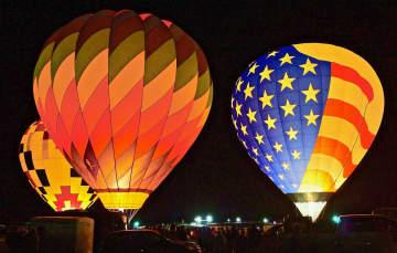 世界的な気球の祭典が開幕 米アルバカーキ