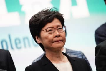 Carrie Lam. Photo: Stand News.