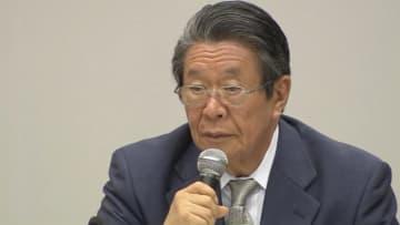 第三者委員会の但木敬一委員長