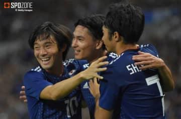 日本が大量6ゴールでモンゴルを粉砕