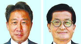 左から届け出順に松本太郎氏、川本達志氏