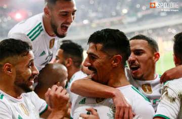 アルジェリアが強豪コロンビアに3発快勝